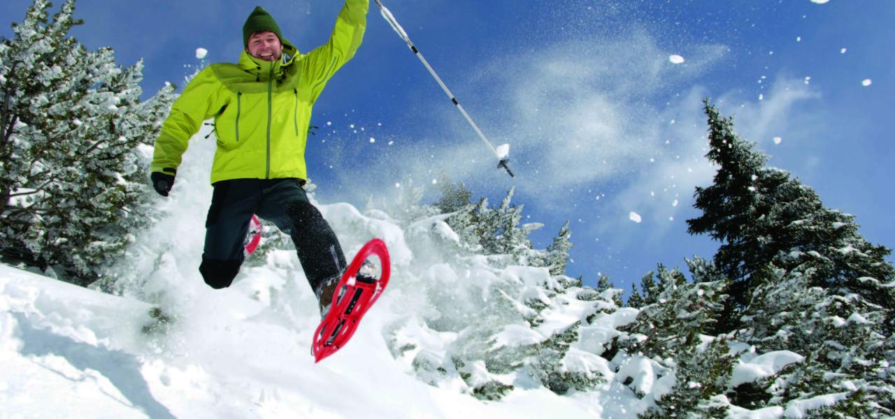 Schneeschuhwandern in Eisacktal- Ratschings