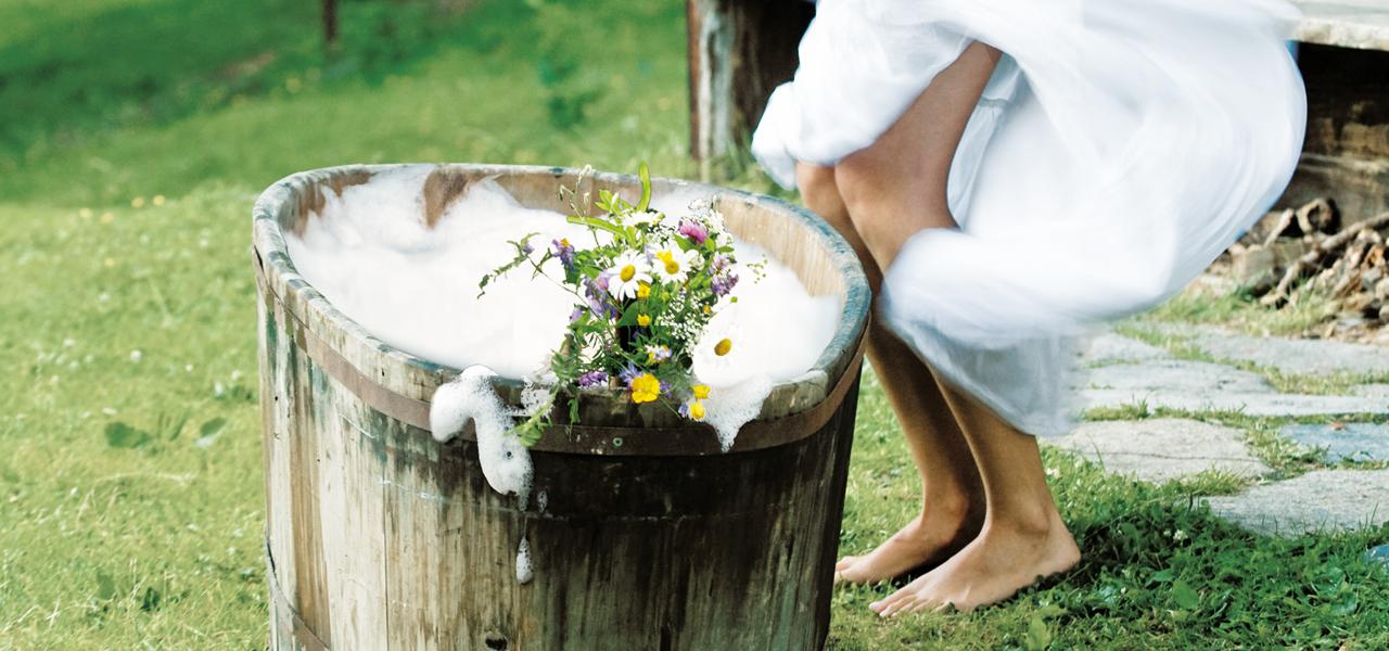 Beauty mit Fokus auf Natur im Hotel Rainer in Südtirol